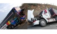 El accidente se registró a la altura de Puerto Drummond.