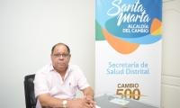 El secretario de Salud (e), Jairo Romo.