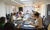 Comité de seguimiento al Coronavirus de la institución efectuó primera reunión de evaluación.