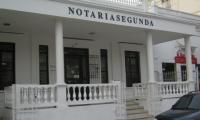 Fachada de la Notaría segunda en Santa Marta.