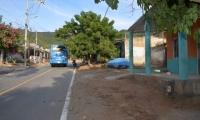 Los buses de Santa Marta anunciaron la suspensión del servicio.