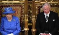 La Reina Isabel y el Principe Carlos