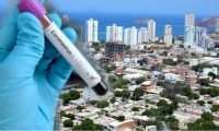 Asciende el número de personas con coronavirus en Santa Marta.