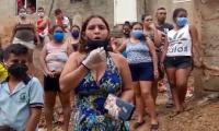 Habitantes de Luis R Calvo claman por ayudas.