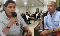 Jorge Ospino y Pedro Gómez Áñez, concejales de Santa Marta.