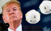 Donald Trump y los tapabocas N-95