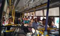 Las personas deberán usar el tapabocas en los buses.