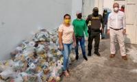 400 de los mercados fueron para el municipio Zona Bananera y 170 para el municipio de Ciénaga.