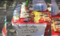 Iniciativa en el barrio Los Almendros.