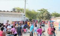 Alcaldía de Ciénaga se molestó con la Gobernación por la falta de organización a la hora de entregar los mercados.