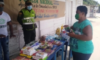 Esta noble actividad fue una iniciativa del subcomisario Jesús Caballero Morón, Jefe del Grupo Prevención y Educación Ciudadana del Departamento de Policía Magdalena.