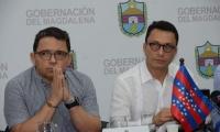 Rafael Martínez, exalcalde de Santa Marta, ahora está en el gabinete de Carlos Caicedo.