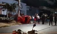 El accidente se registró en la capital del Atlántico.
