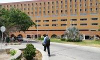 La intervención al hospital Julio Méndez se llevó a cabo en la mañana del pasado martes.