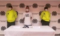 La captura se llevó a cabo en la tarde de este sábado, en el barrio Córdoba del municipio de Ciénaga.