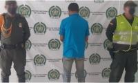 El procedimiento fue desarrollado entre la trocha que comunica al corregimiento de Orihueca con la vereda Santa Rosalía.