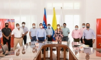 La reunión se llevó a cabo en la tarde de miércoles en la Gobernación.