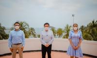 El ministro de Salud se reunió con el gobernador del Magdalena y la alcaldesa del Distrito.