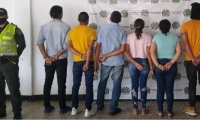 Capturados en Ariguaní.