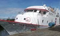 Barco hospital asaltado en Buenaventura.