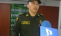 Coronel Oscar Fabián Solarte.