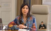 Ministra de Educación, María Victoria Angulo