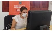 La jefa de la Oficina de Cultura Departamental, Diana Viveros.