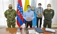 Gobernación, Ejército y Policía avanzan en estrategia conjunta para garantizar seguridad en Carreto.