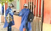 Búsqueda activa de casos en la ciudad.