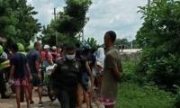 El atentado se registró en el barrio Juan XXIII.