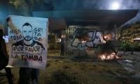 Actos de vandalismo ocurridos en Bogotá.