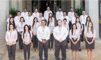 Funcionarios de la Cámara de Comercio de Santa Marta.
