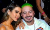 J Balvin y Valentina Ferrer.