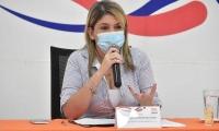 Virna Johnson, alcaldesa de Santa Marta.