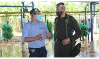 La Policía Nacional trabaja de la mano de Asbama en la lucha contra el narcotráfico.