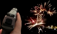 Las personas confundieron los disparos con fuegos artificiales.