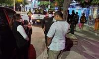 Intervención de la Policía Metropolitana de Santa Marta