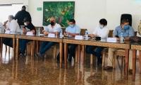 Cumbre de seguridad de Alcaldes con Ministros.