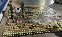 Incautación de toneladas de cocaina