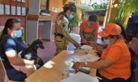 Jornada de atención médica a los animales de Santa Marta