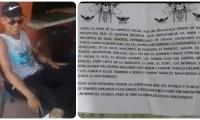 El Fercho fue asesinado anoche en Aracataca.