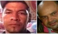 Jhonatan Cervantes Bonet (izquierda) fue asesinado en Ciénaga y Leonardo Amasta en Fundación.