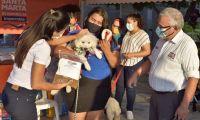 Festival para mascotas en Santa Marta.
