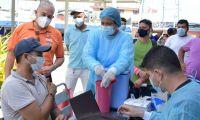 En Santa Marta se encuentran habilitados varios puntos de vacunación contra el Covid-19.