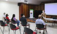 En el auditorio Roque Morelli de la Universidad del Magdalena se llevó a cabo la reunión.