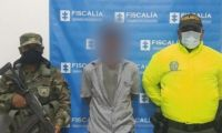 La captura del procesado fue materializada por uniformados de la Policía Nacional y del Ejército Nacional.