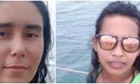 Imágenes de las dos mujeres que perdieron la vida en el accidente de tránsito.