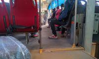 En lamentable estado están los buses de servicio público en Santa Marta.