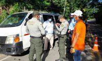 Los operativos se desplegaron en las zonas turísticas.