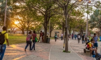 Instalaciones de la Universidad del Magdalena.